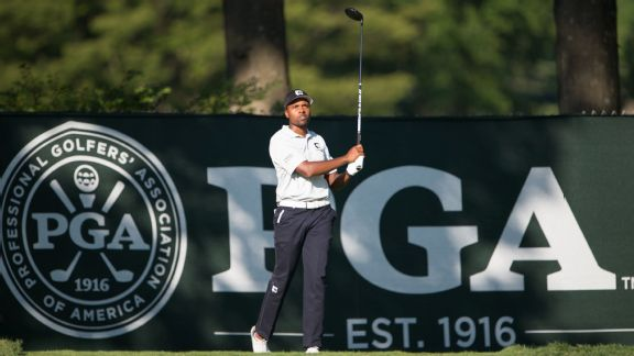 Michael Collins Round 2 PGA Championship grades
