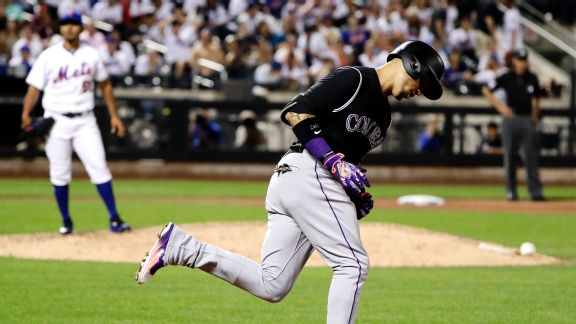 Bye-bye playoffs? Mets' futility at plate continues in loss to Rockies