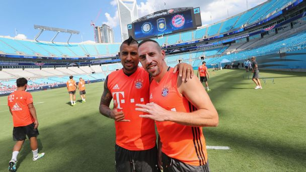 Watch live: U.S. player leading Bayern's charge