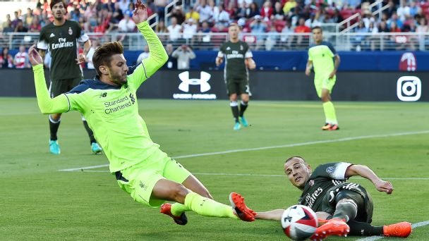 Watch live: Liverpool, AC Milan scoreless in second half