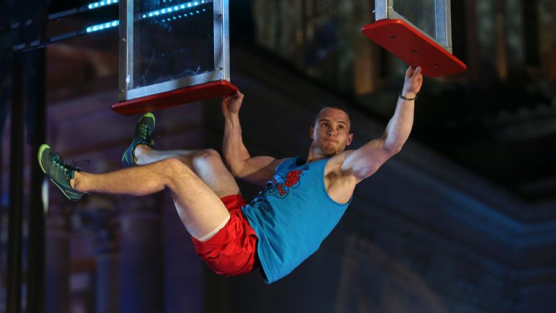 Mitchell VeDepo taking on the Window Hang in American Ninja Warrior Oklahoma City Finals.