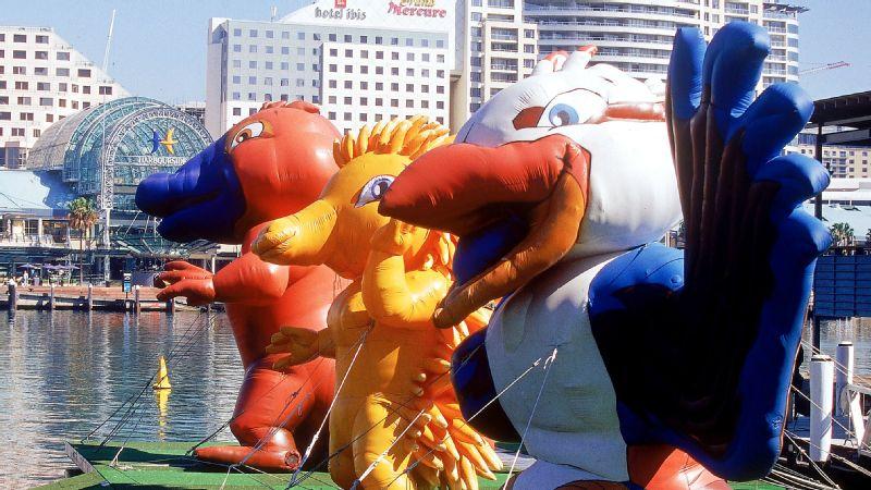 2000 Olympic mascot