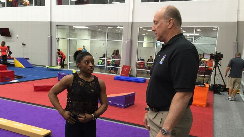Robert Andrews had been a sports psychology consultant for the U.S. men's team before he started working with Simone Biles.