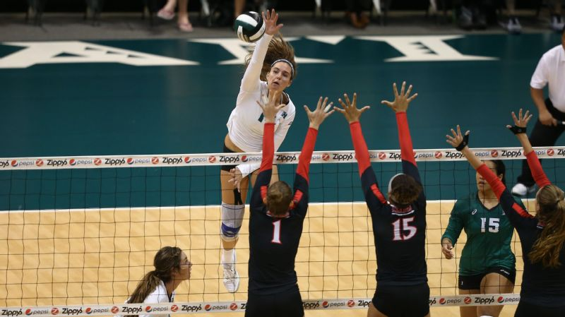 Nikki Taylor, outside hitter, Hawaii
