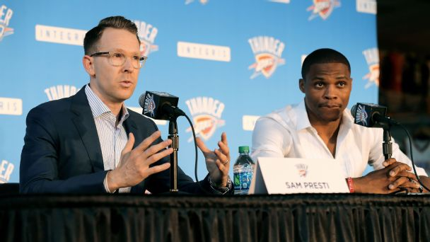 Westbrook can finally be Westbrook, and he has Durant to thank for it