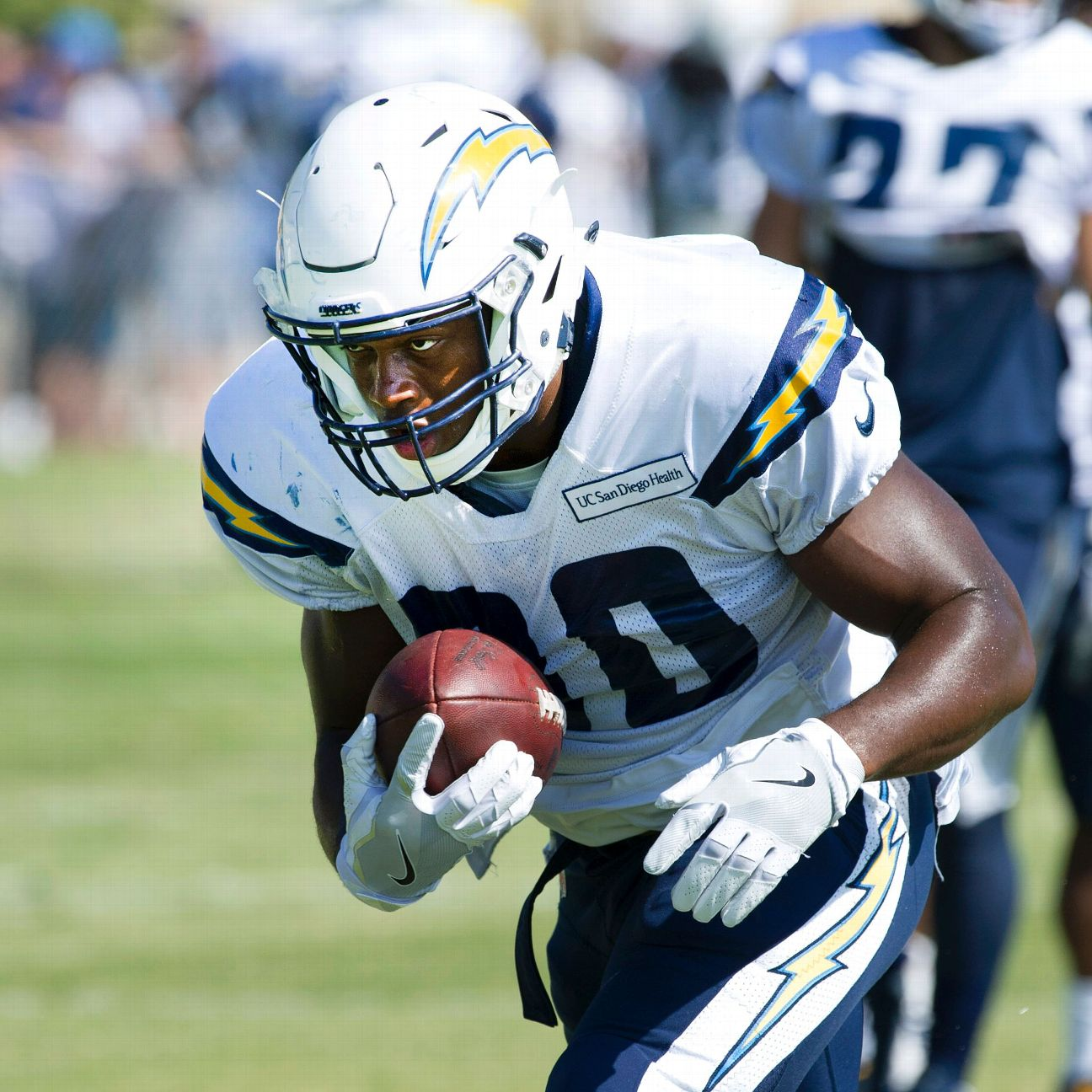 San Diego Chargers First Round Draft Picks: U.S. Navy Officer/fullback Chris Swain Among San Diego