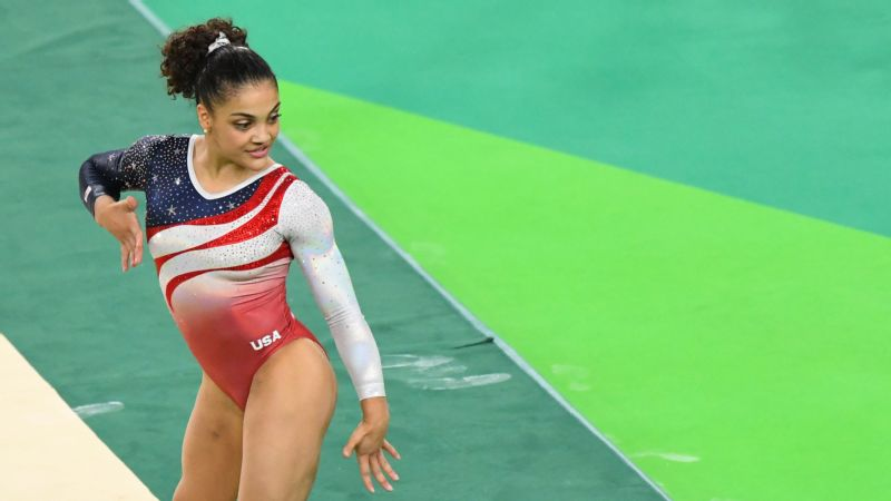 Laurie Hernandez will be returning home with an Olympic gold medal in women's team gymnastics.