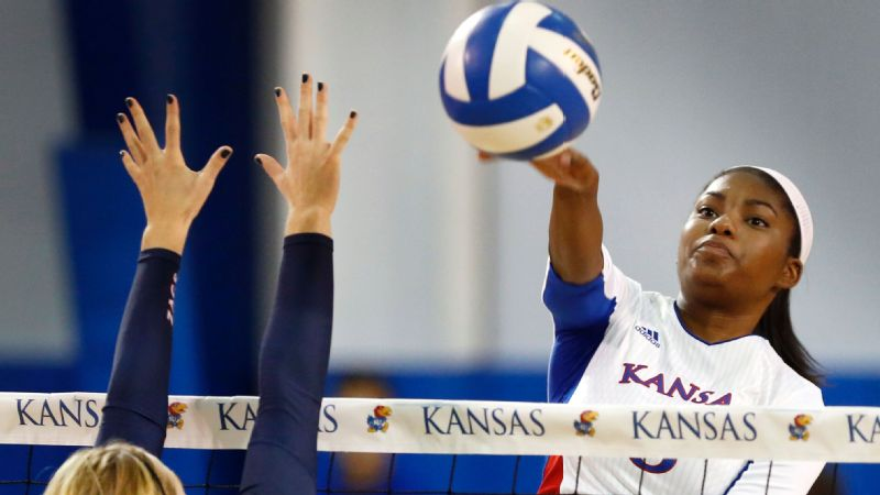 Kelsie Payne, outside hitter, Kansas
