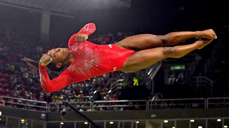 Women's gymnastics individual finals Sunday vault, uneven bars