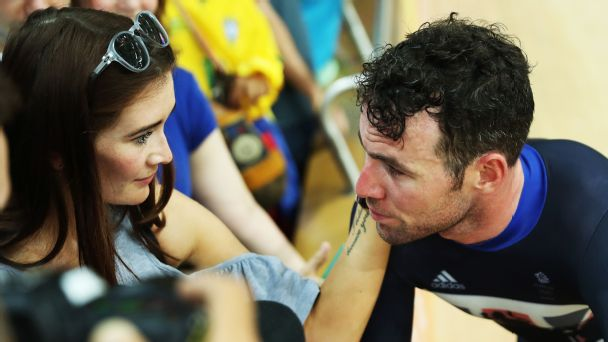 Mark Cavendish And Peta Todd