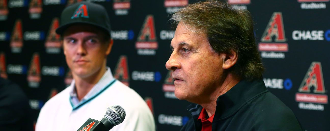 Zack Greinke and Tony La Russa