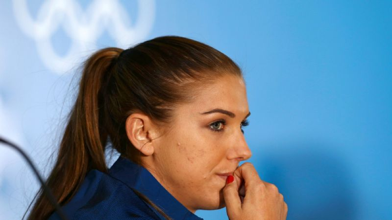 Alex Morgan was a key part of the U.S. women's soccer team's victories at the 2012 Olympics and 2015 World Cup.