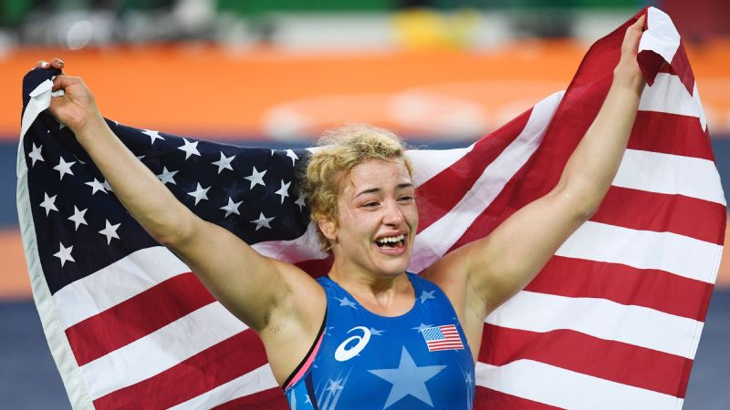 Winning gold didn't come easy for Helen Maroulis.