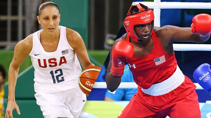 Baller Diana Taurasi and boxer Claressa Shields struck gold in Rio.