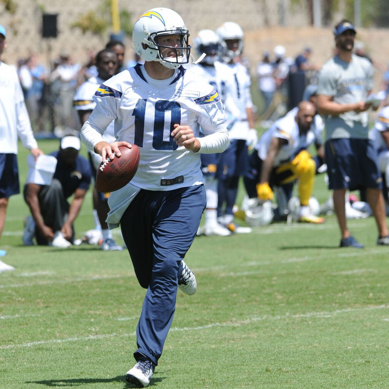 San Diego Chargers Espn: Kellen Clemens In Lead For San Diego Chargers' No. 2 QB