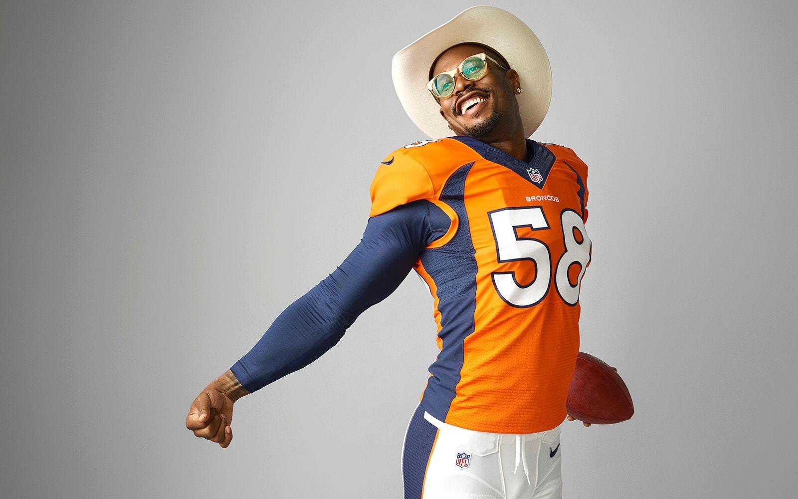 e2d421eb0 Denver Broncos star Von Miller has a new contract