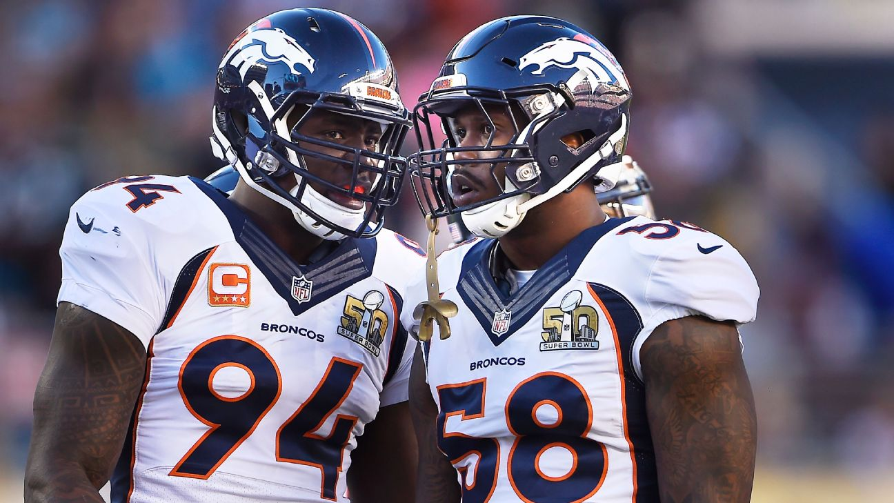 aefc39f9b41 Denver Broncos star Von Miller has a new contract, new role and new ...