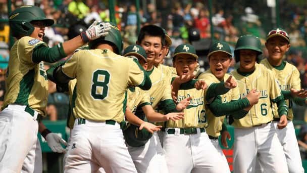 South Korea cruises to LLWS international championship