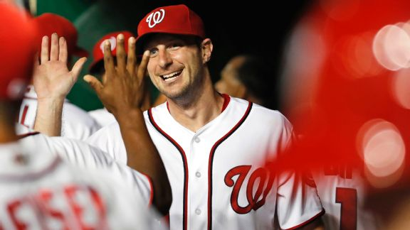 Cy Young candidate Max Scherzer plays streak-stopper for Nats