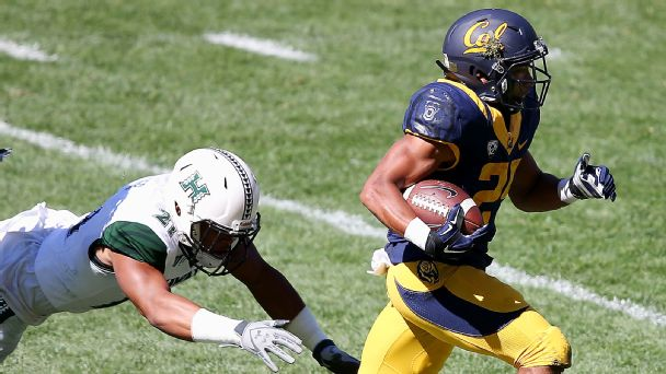 Watch live: Hawaii answers with long run, ties Cal