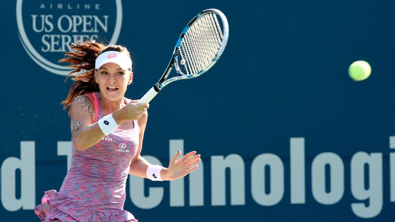 Agnieszka Radwanska, who'll be the No. 4 seed in next week's US Open, didn't drop a set during the Connecticut Open.