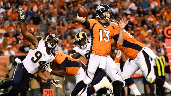 An eight-play look at why Trevor Siemian won the Broncos' QB job