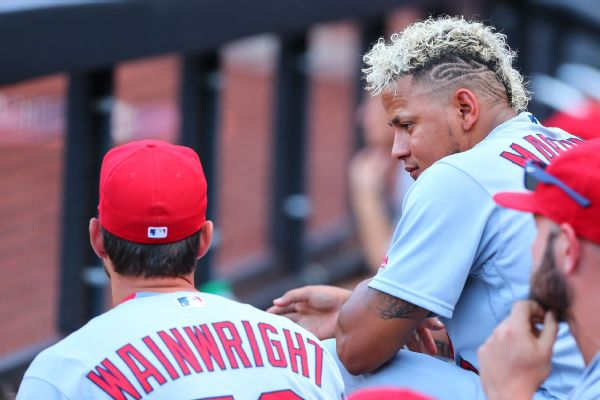 Adam Wainwright and Carlos Martinez