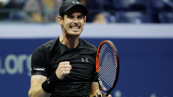 Andy Murray looks like the man to beat at US Open