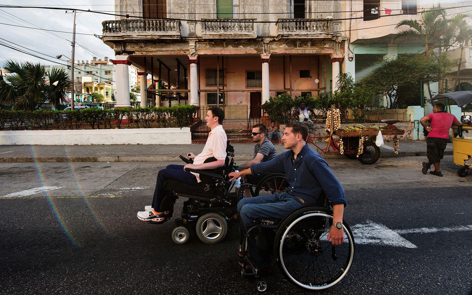 Navigating Cuba & Quadriplegic athlete navigates Cuba to show others how to live ...