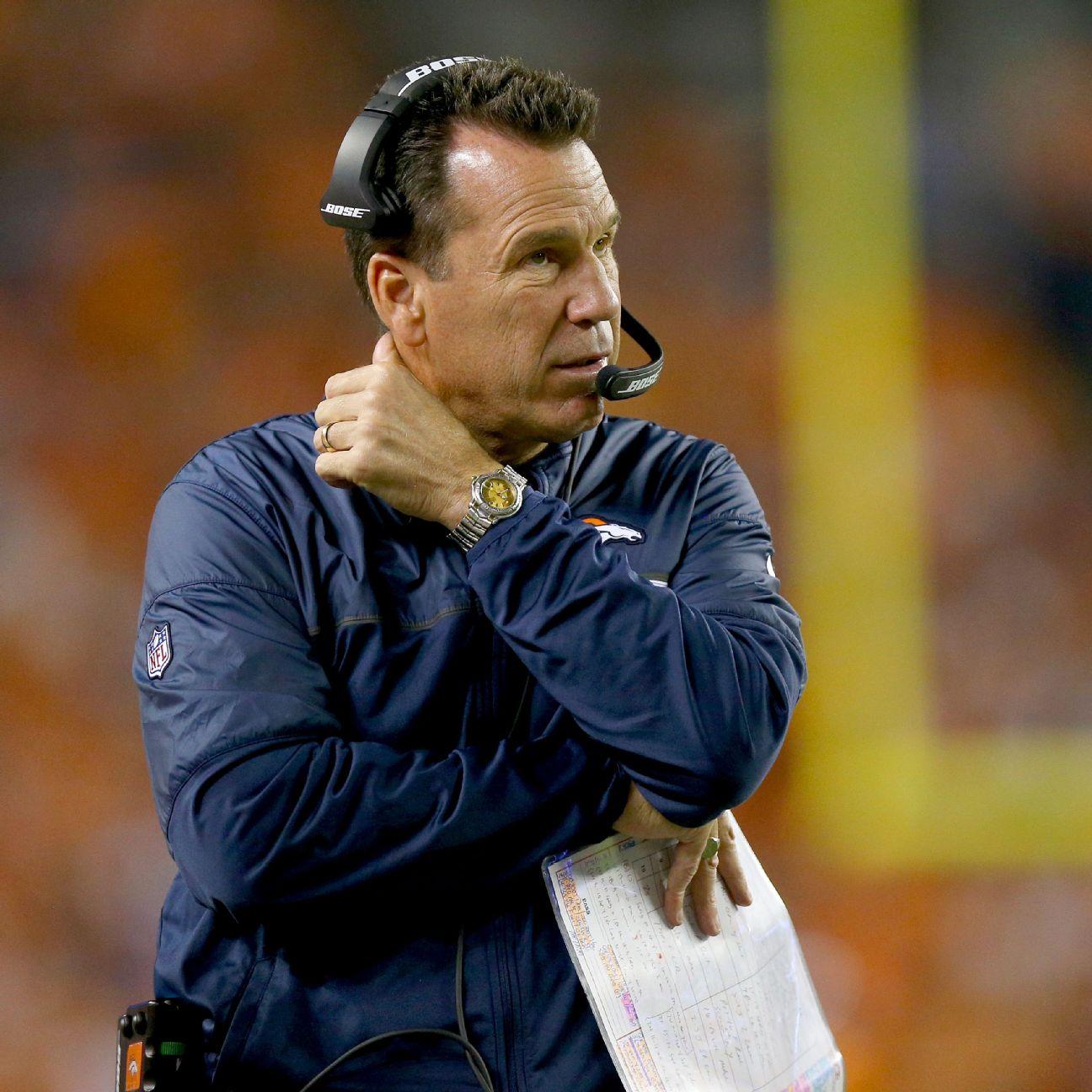 Denver Broncos Coach Gary Kubiak In Hospital With 'flu