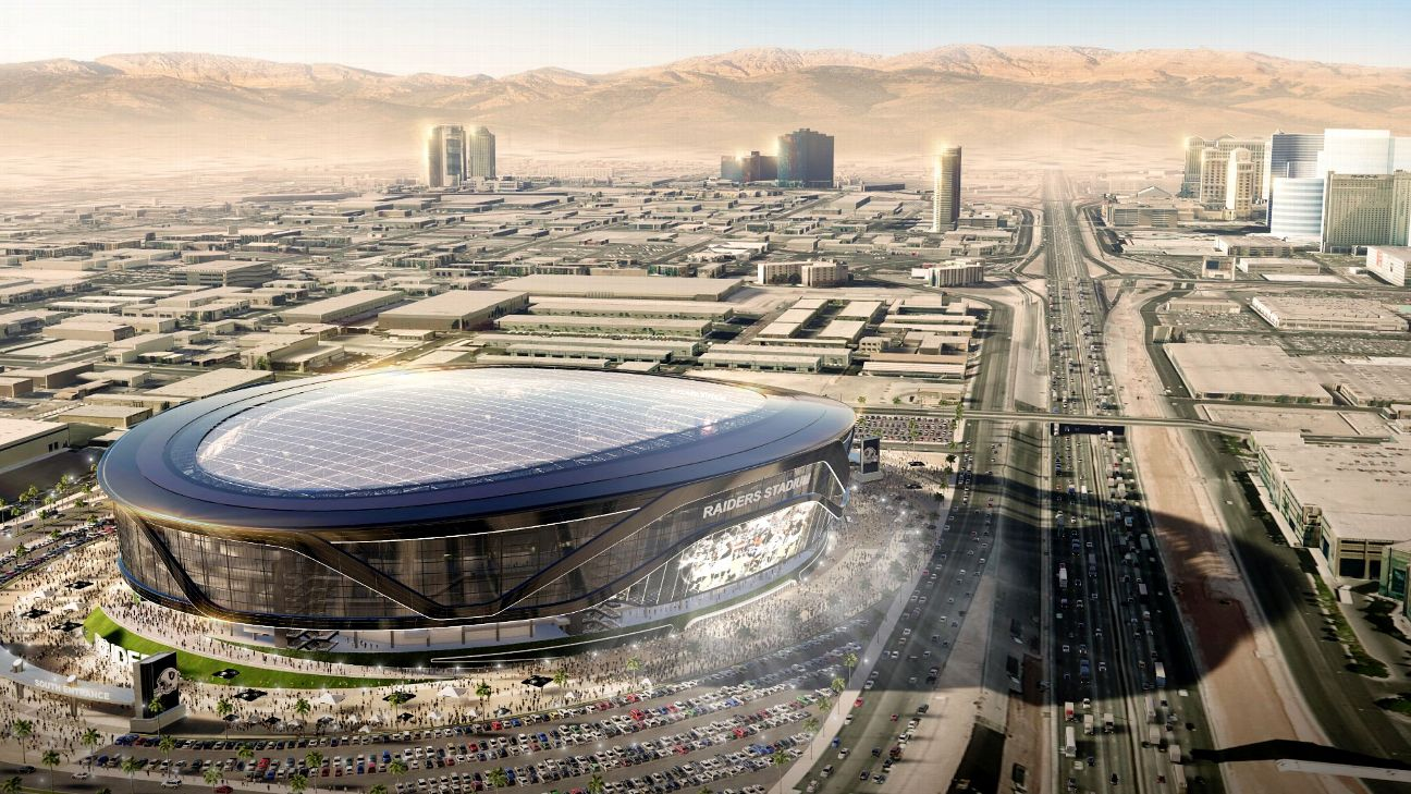 a0a3fc621 Where will the Raiders play in 2019