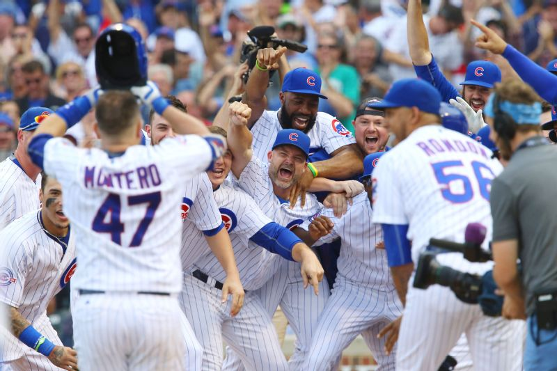 The Cubs clinched the National League Central Division title.