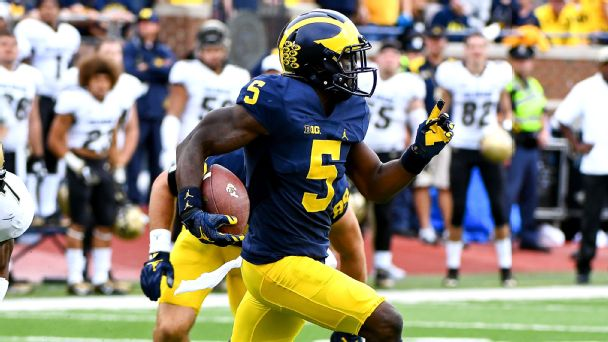Watch live: No. 4 Michigan runs to big lead at home