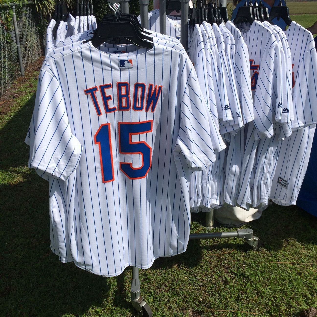 New york mets tim tebow jersey sales baseball move already for T shirt printing port saint lucie fl