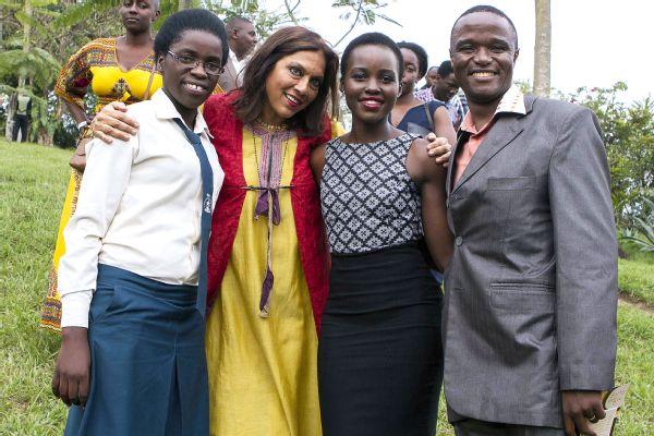 Phiona Mutesi, Mira Nair, Lupita Nyongo, Robert Katende