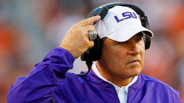 Sources: LSU fires Les Miles after 2-2 start, names Ed Orgeron interim coach