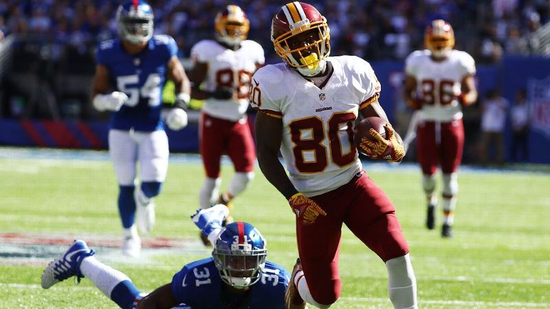 If you're in need of a wide receiver, the Redskins Jamison Crowder has become a favorite target for Kirk Cousins with 185 yards and two touchdowns in three games.