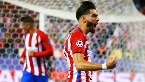 Carrasco's strike lifts Atletico over Bayern