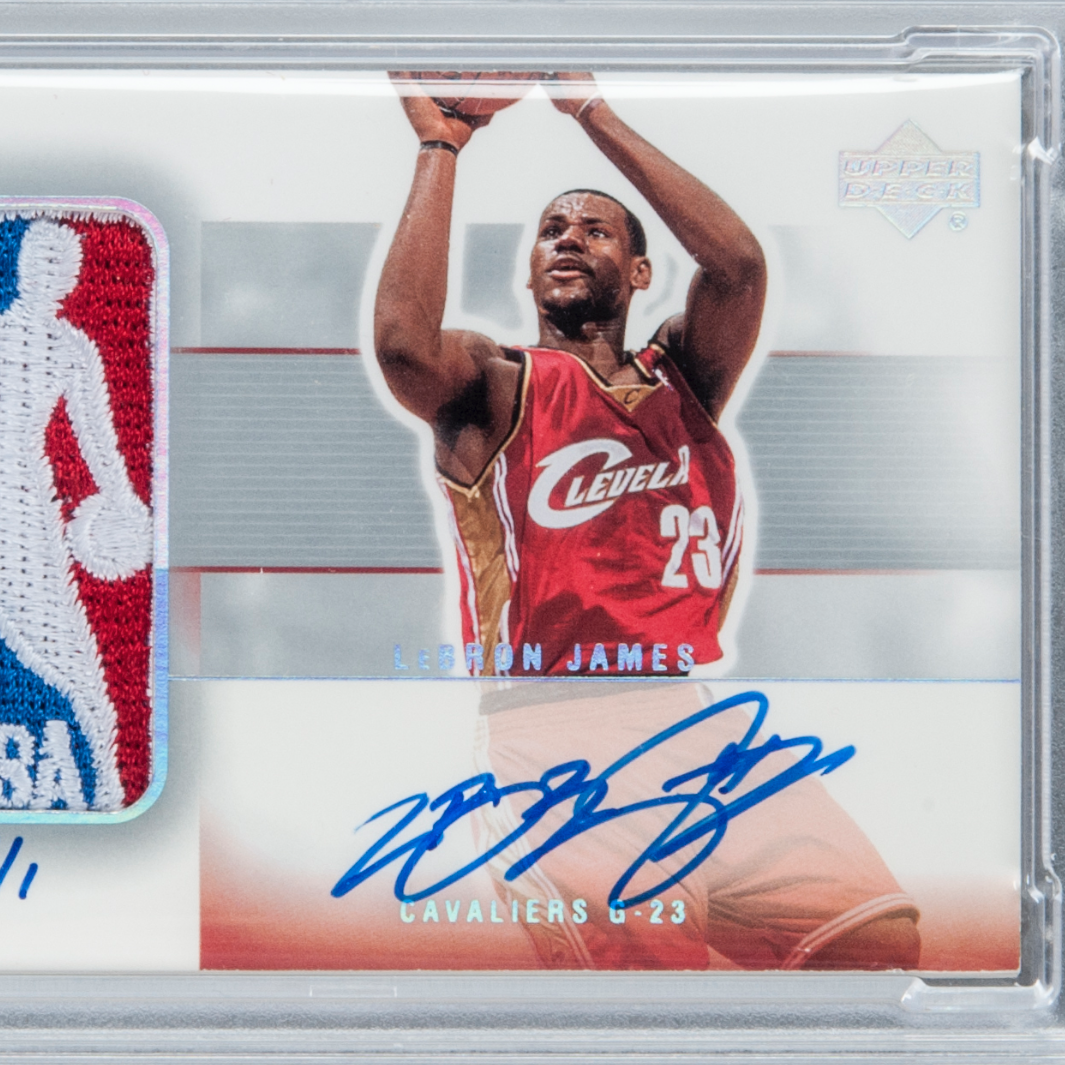 LeBron James Signed Rookie Card Sells For $312,000