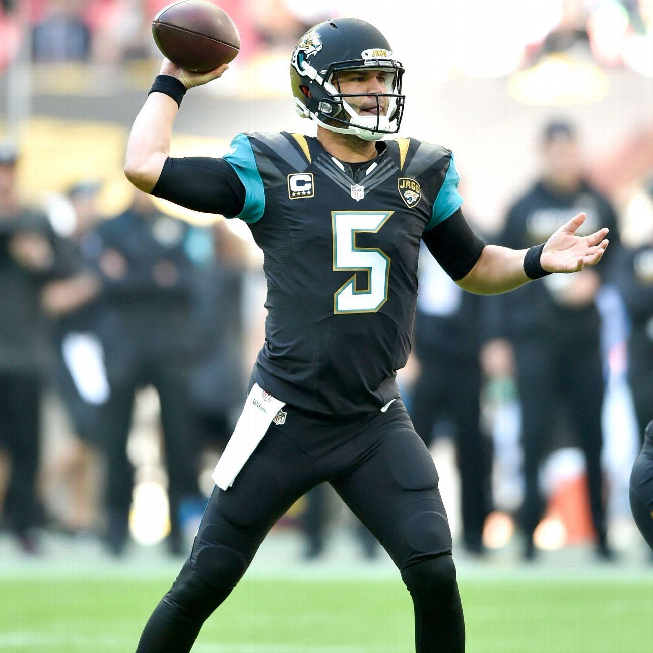 Jacksonville Jaguars Qb Blake Bortles Getting Help With