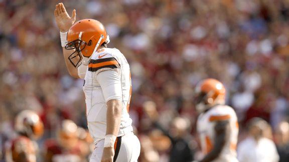 Quarterback Cody Kessler #6 of the Cleveland Browns