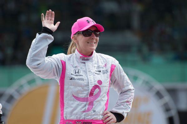 Pippa Mann 2016 Indy 500