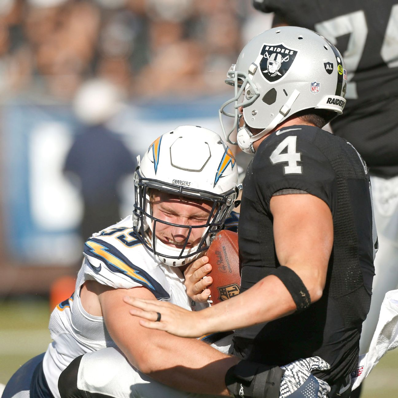 Joey Bosa S Two Sack Effort For San Diego Chargers Quiets