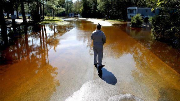 Hurricane Matthew in Kinston, North Carolina
