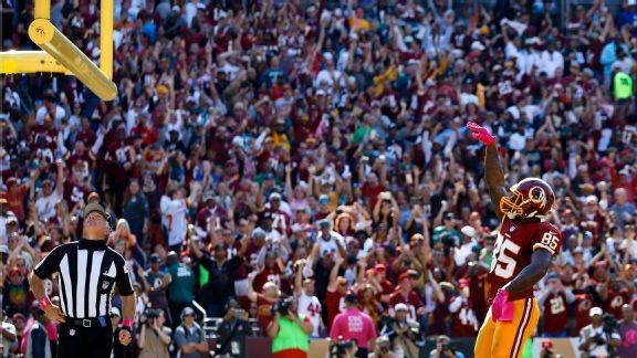 Washington Redskins tight end Vernon Davis
