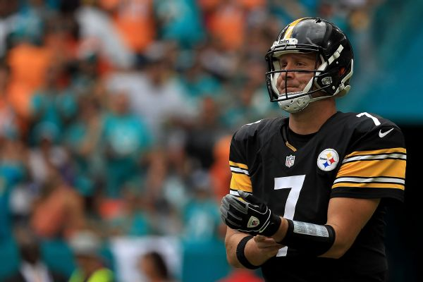 Roethlisberger could start Sunday for Steelers