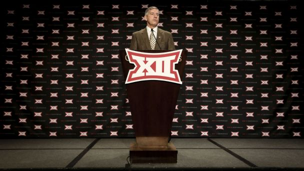 Big 12 nixes division idea; title game pits 1 vs. 2