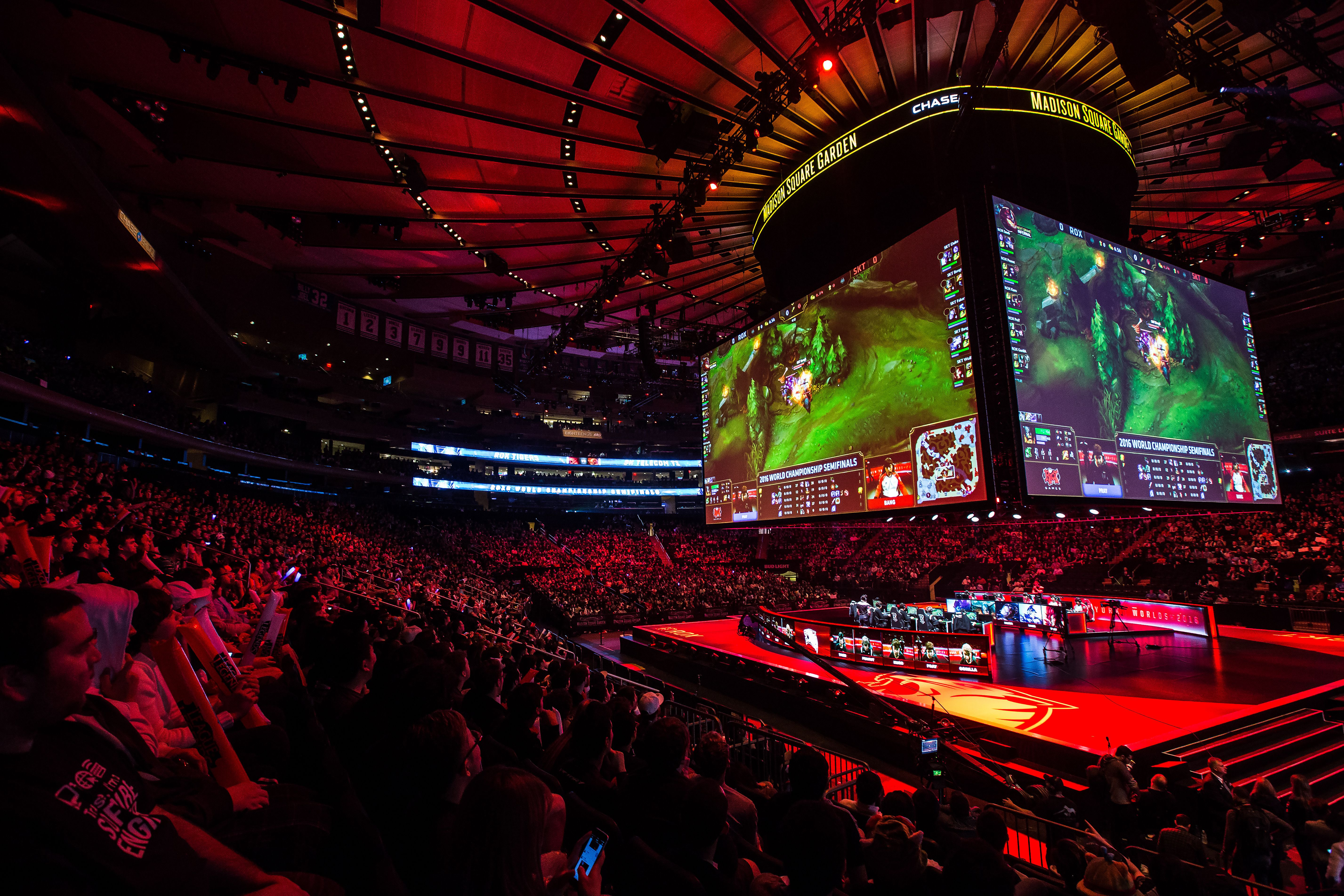 The 2016 League Of Legends Worlds Semifinals In Pictures