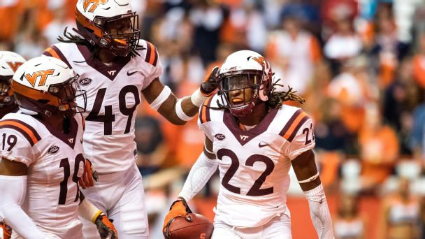 Follow live: Virginia Tech capitalizes on Pittsburgh turnover