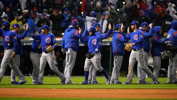 Cubs (after World Series Game 2)